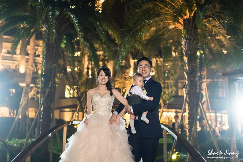 桃園大溪威斯汀池畔婚禮攝影