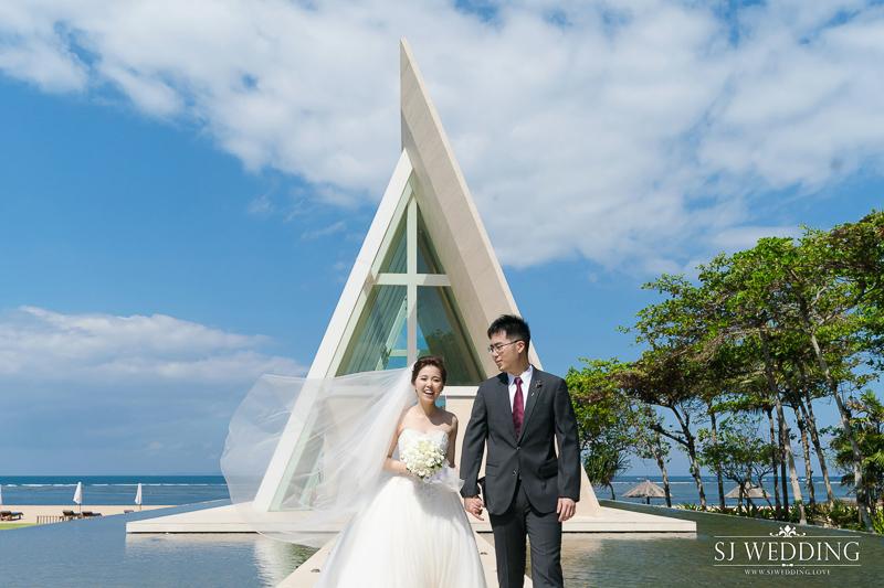 峇里島港麗飯店婚禮攝影